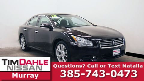 Pre-Owned 2014 Nissan Maxima 3.5 SV FWD 4D Sedan