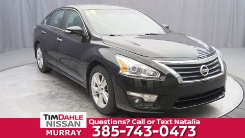 Pre-Owned 2014 Nissan Altima 2.5 SL FWD 4D Sedan