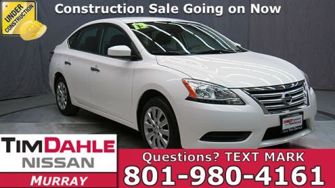 Pre-Owned 2013 Nissan Sentra FE+ SV FWD 4D Sedan
