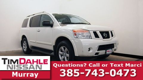 Pre-Owned 2013 Nissan Armada SV 4WD