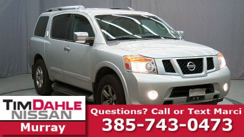 Pre-Owned 2012 Nissan Armada SL 4WD