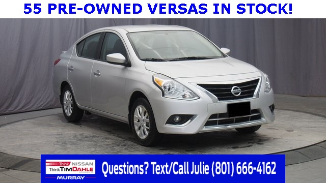 Certified Pre-Owned 2017 Nissan Versa 1.6 S Plus