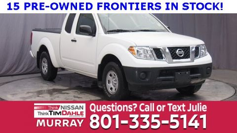 Pre-Owned 2017 Nissan Frontier S RWD King Cab