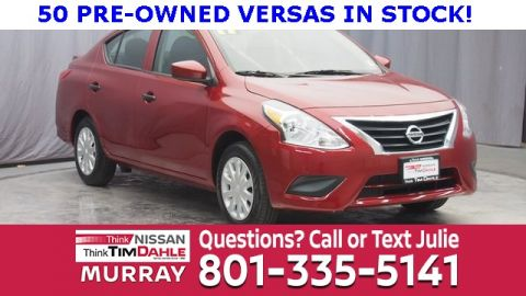 Certified Pre-Owned 2017 Nissan Versa 1.6 S Plus FWD 4D Sedan